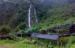 Sikarim Waterfall in Mlandi Village